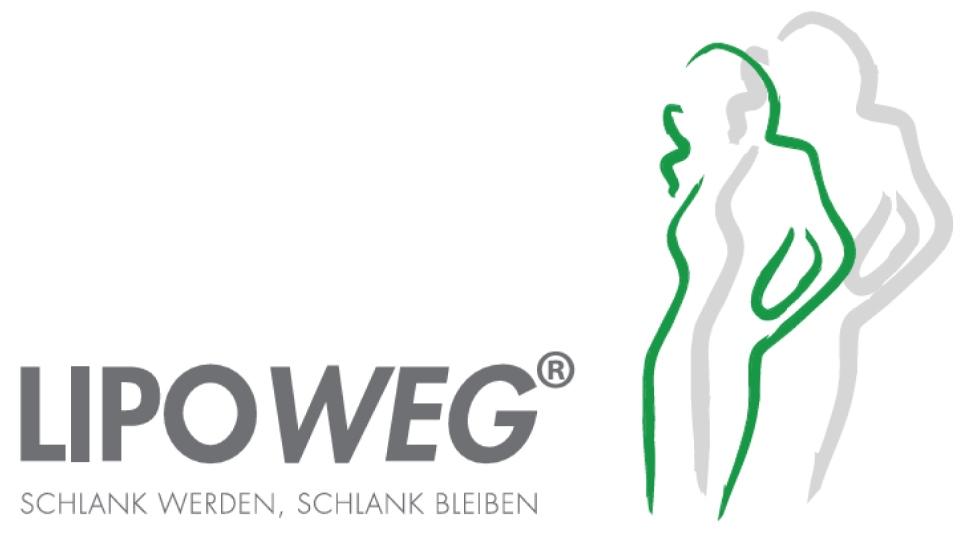 """Lipoweg Logo: """"Schlank werden, schlank bleiben"""""""